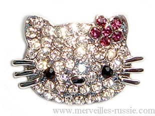 Broche pins Chat Hello Kitty