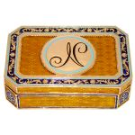 Coffret de collection monogramme de Napoleon