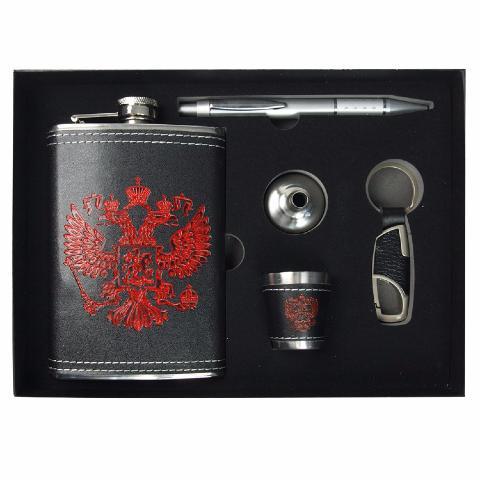 Coffret cadeau pour homme flasque aigle bic phale russe - Cadeau symbolique pour homme ...
