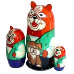 Chiens - poupee russe collection Serguiev Possad