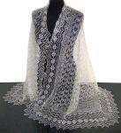 Chales russes laine chales russes d 39 orenbourg boutique - Chale blanc mariage ...