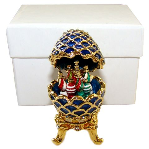 10b0817090 Oeuf du Kremlin, Inspiration Oeuf Faberge (miniature)