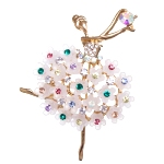 Broche Danseuse
