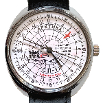 Montre Sovietique Arctique 24h - Expedition Pôle Nord-1