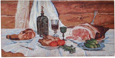"Tapisserie "" La Table russe """