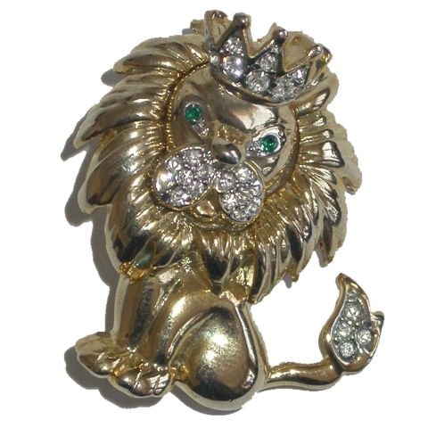 Broche Roi Lion