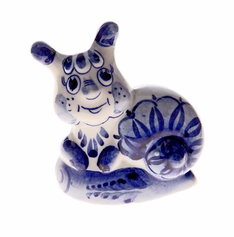 Figurine en porcelaine russe - Escargot