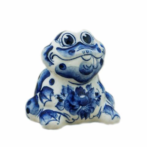 Figurine Grenouille, collection grenouilles en porcelaine