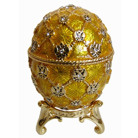 Oeuf Couronnement, copie Oeuf Faberge Couronnement 1897