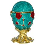 Oeuf aux pensées inspiration Oeuf Faberge
