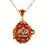 Pendentif Oeuf - Couronne Tsar Russe