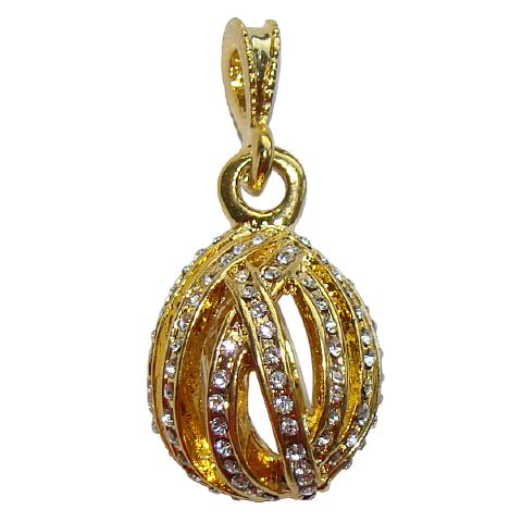Pendentif Oeuf style Faberge - Audrey