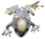Grenouille - Broche style Faberge
