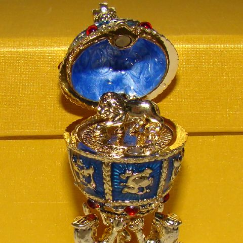 oeuf napol onien inspiration oeuf faberge miniature. Black Bedroom Furniture Sets. Home Design Ideas