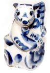 Figurine Souris, Rat en porcelaine russe
